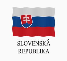 Slovakian flag Womens Fitted T-Shirt