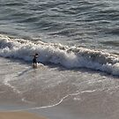Playing in the Surf I - Jugando en el oleaje by PtoVallartaMex