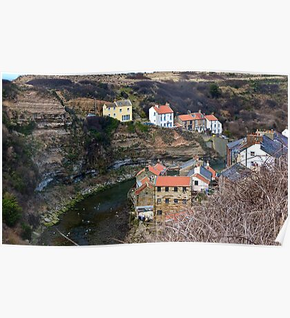 Staithes- North Yorkshire Coast Poster