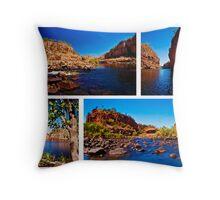 Nitmiluk National Park, Katherine Gorge Throw Pillow