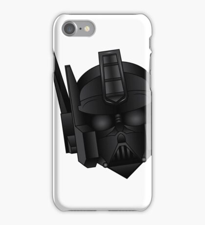 Optimus Vader iPhone Case/Skin