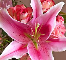 Oriental Lily One by Jay Reed