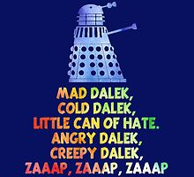 Mad Dalek Doctor Who by Daniel9900