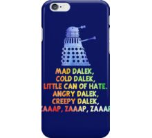 Mad Dalek Doctor Who iPhone Case/Skin