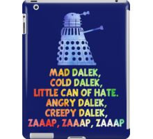 Mad Dalek Doctor Who iPad Case/Skin
