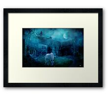 The White Horse Framed Print