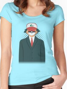 Son of PokeMan Women's Fitted Scoop T-Shirt
