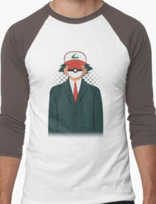Son of PokeMan Men's Baseball ¾ T-Shirt