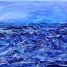 Storm  Acrylic on canvas by Regina Valluzzi