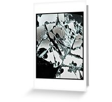 Shattered Remains Greeting Card