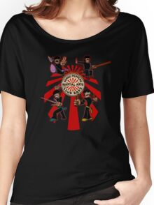 Sensei Pepper's Martial Arts Club Band (2012) Women's Relaxed Fit T-Shirt