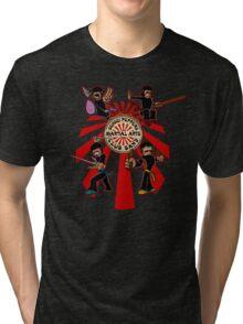 Sensei Pepper's Martial Arts Club Band (2012) Tri-blend T-Shirt