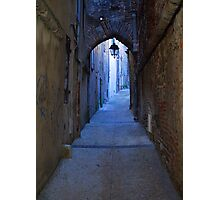 Cahors Alley Photographic Print