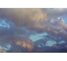 Clouds on Fire Photographic Print