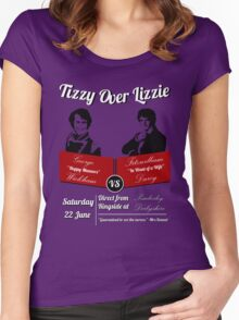 Tizzy Over Lizzie Women's Fitted Scoop T-Shirt