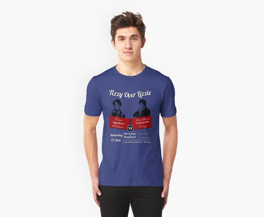 Quot tizzy over lizzie quot t shirts amp hoodies by anglofile redbubble