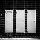 Three Doors by JelmervNuss