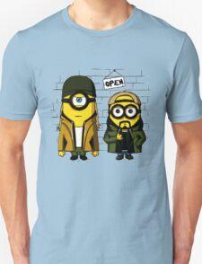 Silent Minion Stuart And Bob Unisex T-Shirt