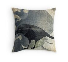 From the Raven Child Throw Pillow