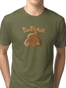 Poopémon Tri-blend T-Shirt