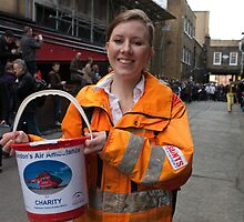 Collecting for the London Air Ambulance by Keith Larby