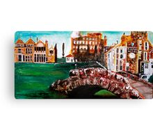 Rusacks Hotel & the 18th Hole, St Andrews, Canvas Print