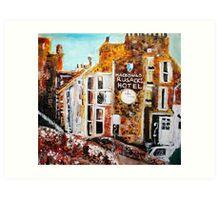 bit of Rusacks hotel, St Andrews 3 Art Print