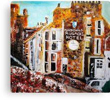 bit of Rusacks hotel, St Andrews 3 Canvas Print