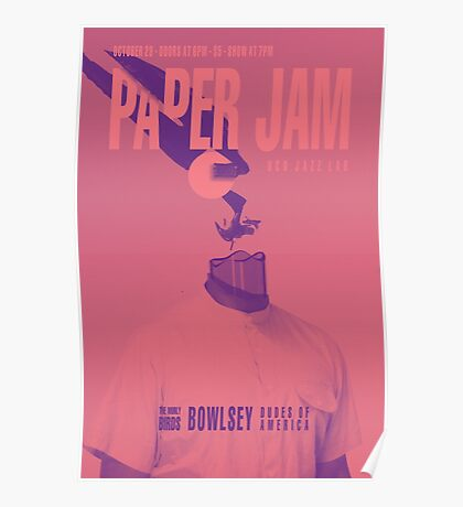 Paper Jam '15 III by Taylor Hale Poster