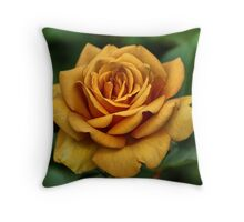 Golden Rose For Mother's Day Throw Pillow