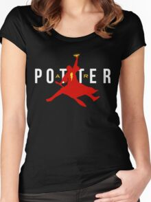 Potter Air Women's Fitted Scoop T-Shirt