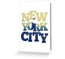 Empire State of NYC Greeting Card