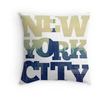Empire State of NYC Throw Pillow