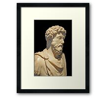 The Emperor Hadrian Framed Print