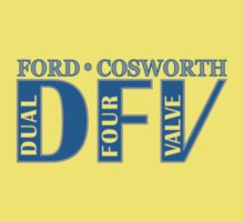 Ford Cosworth DFV (Dual Four Valve) by oawan