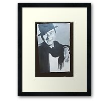 A TRIBUTE TO FRANK FOR HIS 100TH. BIRTHDAY  Framed Print