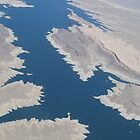 The Jagged Face of the Colorado River by bhavini