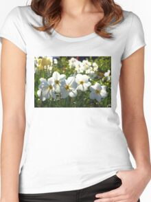 Poet Daffodils Dreams - Impressions Of Spring Women's Fitted Scoop T-Shirt