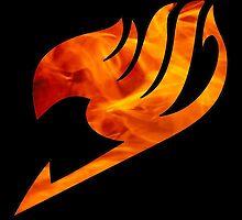 Fire Fairy Tail Logo by AllisonDawn15