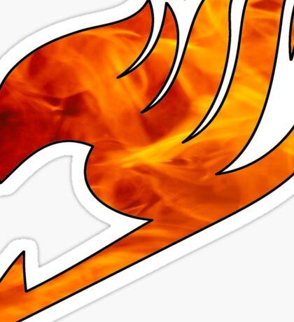 Fire Fairy Tail Logo Sticker