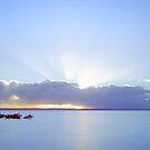 God Shines His Light on Cleveland - Qld Australia by Beth  Wode