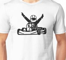 Kart racing champion Unisex T-Shirt