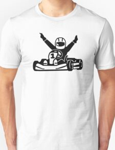 Kart racing champion T-Shirt
