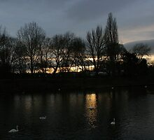 Worcester UK river  by LUUUL