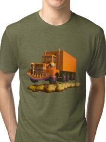 Toy Semi Truck Tri-blend T-Shirt