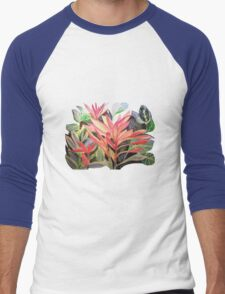 EXPLODING NATURE Men's Baseball ¾ T-Shirt