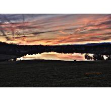 Mountain Run Lake Photographic Print