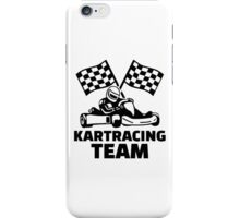 Kart racing team iPhone Case/Skin