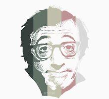 Woody Allen suffering in colors Men's Baseball ¾ T-Shirt