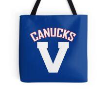 Vancouver Canucks - PCHL & WHL Logo Tote Bag